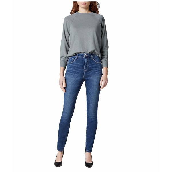 ジャグジーンズ レディース デニムパンツ ボトムス Cecilia High-Rise Skinny Jeans Tribeca Blue