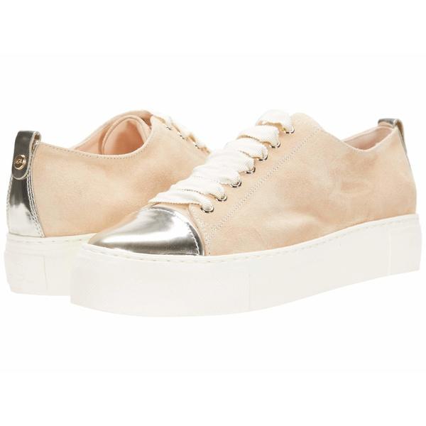 Toe Sneaker シューズ スニーカー Tan/Gold レディース エージーエル Cap