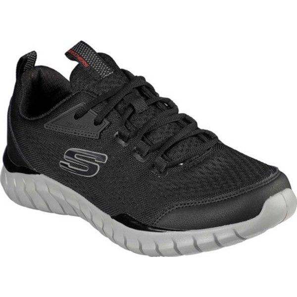 スケッチャーズ メンズ スニーカー シューズ Overhaul 2.0 Sneaker Black/Gray
