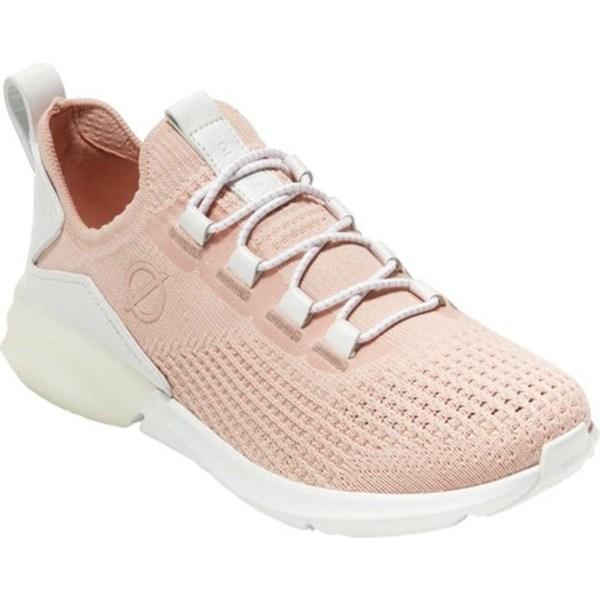 コールハーン レディース スニーカー シューズ ZEROGRAND Stitchlite All-Day Runner Sneaker Mahogany Rose/Optic White Knit