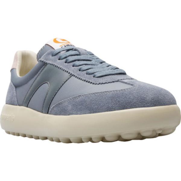 カンペール レディース スニーカー シューズ Pelotas XLF Nubuck/Fabric Sneaker Medium Gray Nubuck/Textile