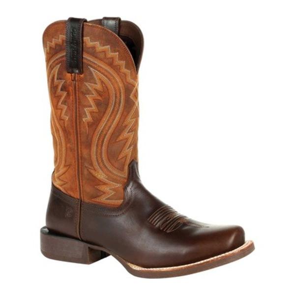 ヂュランゴ メンズ ブーツ&レインブーツ シューズ DDB0265 Rebel Pro Western Boot Cimarron Brown Full Grain Leather