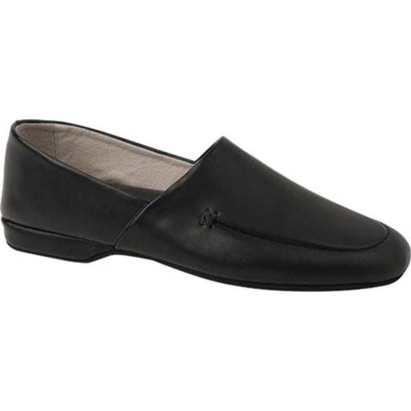 エルビー エバンス メンズ スニーカー シューズ Duke Opera Black Leather