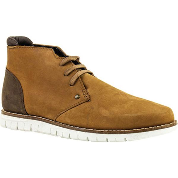 クレボ メンズ ブーツ&レインブーツ シューズ Gabor Chukka Boot Tan Leather