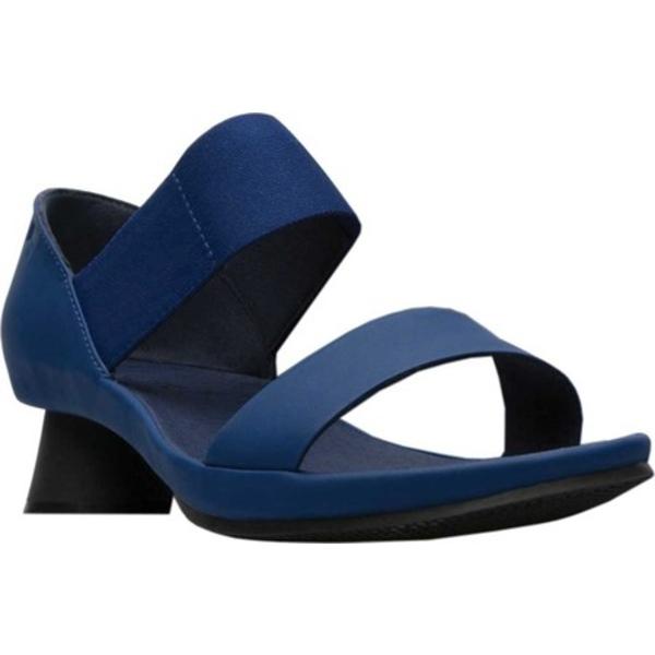 カンペール レディース スニーカー シューズ Alright Slide Sandal Navy Full Grain Leather/Technical Fabric