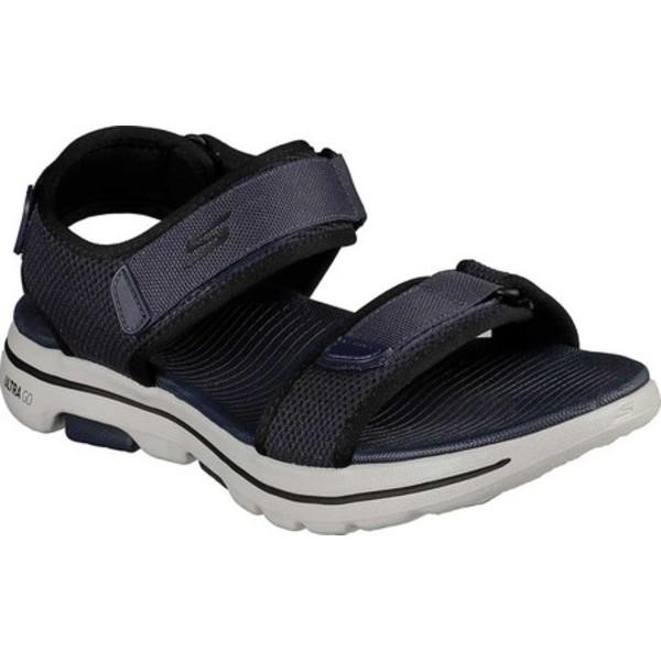 スケッチャーズ メンズ スニーカー シューズ GOwalk 5 Cabourg Sport Sandal Navy/Black