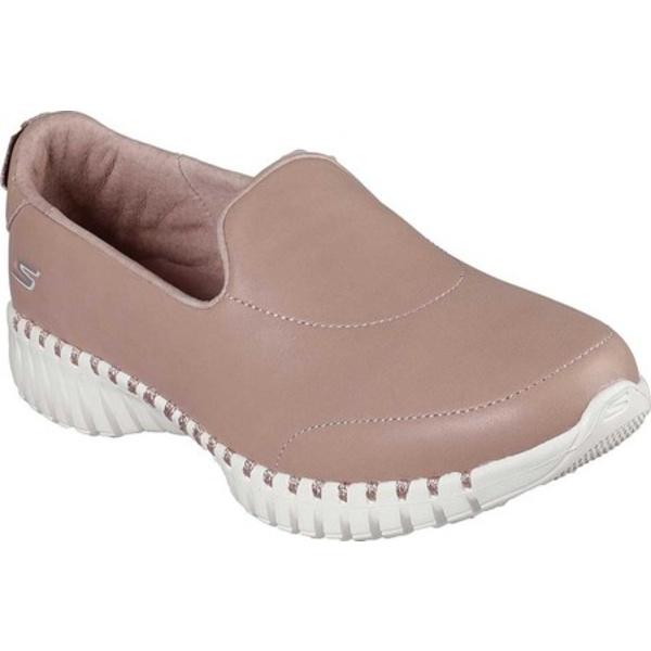 スケッチャーズ レディース スニーカー シューズ GOwalk Smart Fancy Pants Slip On Sneaker Mauve