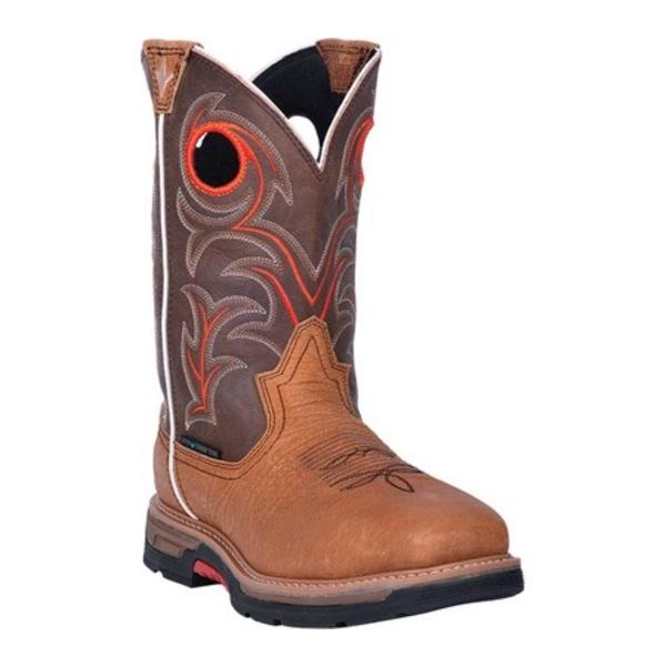ダンポスト メンズ ブーツ&レインブーツ シューズ Storms Eye Composite Toe Boot DP59412 Brown Waterproof Full Grain Leather