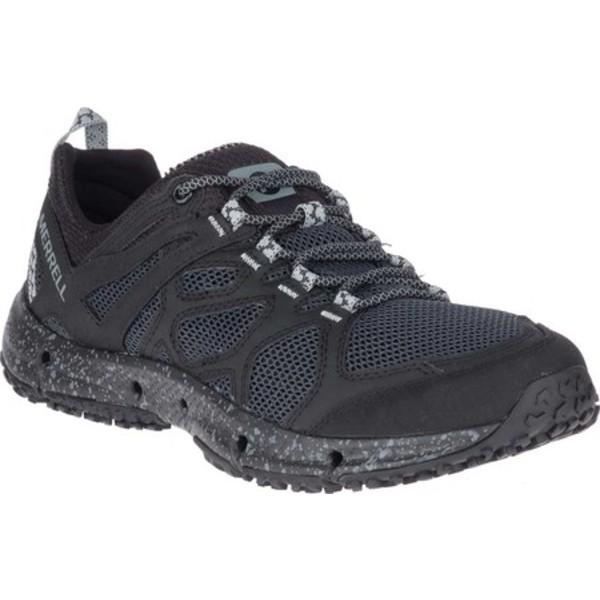 メレル メンズ スニーカー シューズ Hydrotrekker Hiking Shoe Black Webbing