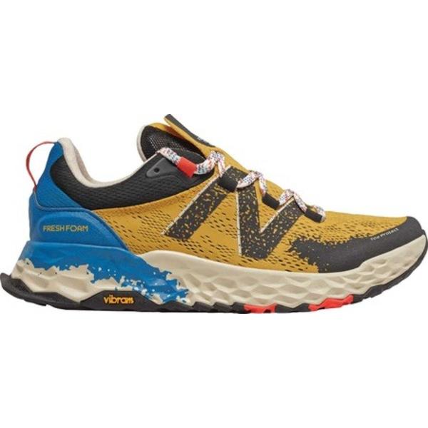 ニューバランス メンズ スニーカー シューズ Fresh Foam Hierro v5 Trail Running Shoe Varsity Gold/Neo Classic Blue