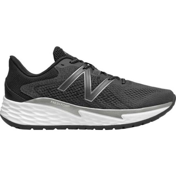 ニューバランス メンズ スニーカー シューズ Fresh Foam Evare Running Sneaker Black/Dark Silver