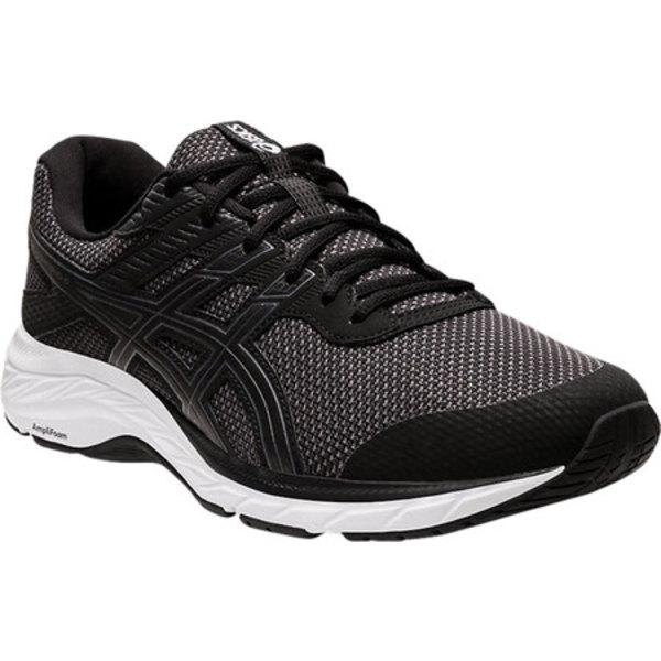 アシックス メンズ スニーカー シューズ GEL-Contend 6 Twist Running Sneaker Graphite Grey/Black