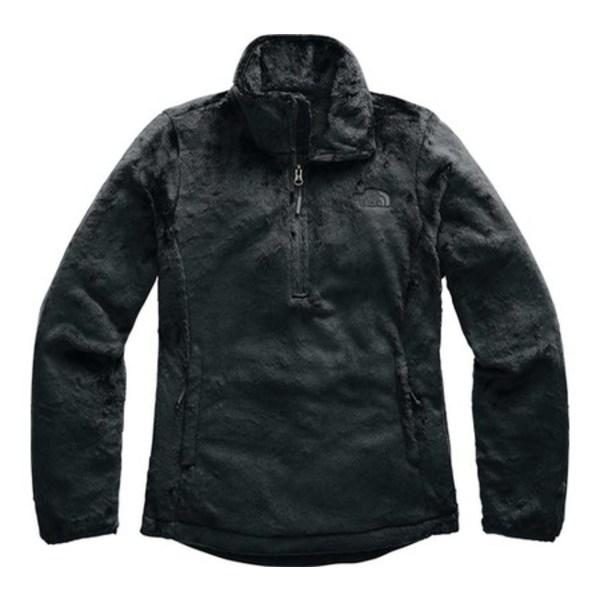 ノースフェイス レディース パーカー・スウェットシャツ アウター Osito Quarter Zip Pullover TNF Black