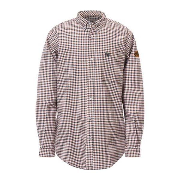 キャタピラー メンズ シャツ トップス Flame Resistant Plaid Work Shirt Soma Plaid