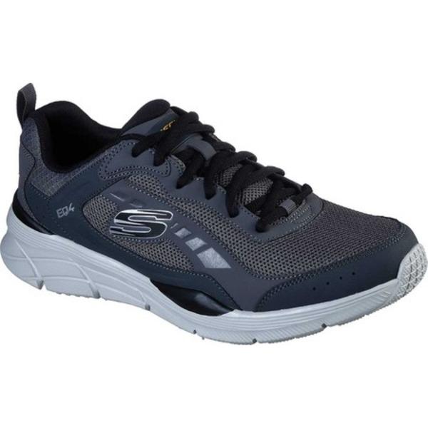 スケッチャーズ メンズ スニーカー シューズ Relaxed Fit Equalizer 4.0 Restrike Sneaker Charcoal/Black
