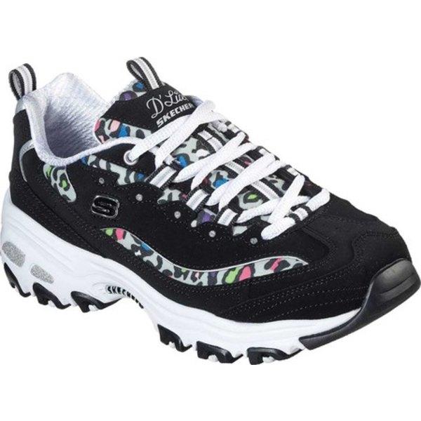 スケッチャーズ レディース スニーカー シューズ D'Lites Safari Landscape Sneaker Black/Multi