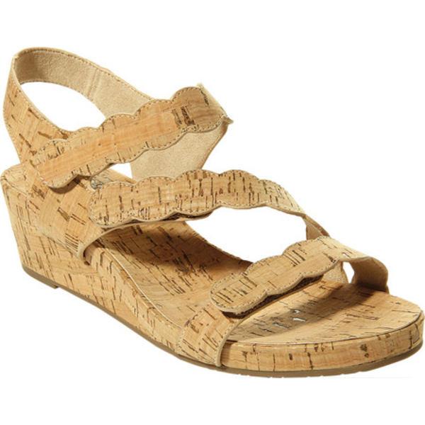 ベネリ レディース サンダル シューズ Kabie Wedge Sandal Natural Cork