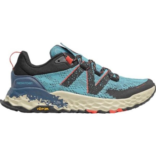 ニューバランス レディース スニーカー シューズ Fresh Foam Hierro v5 Trail Running Shoe Wax Blue/Toro Red
