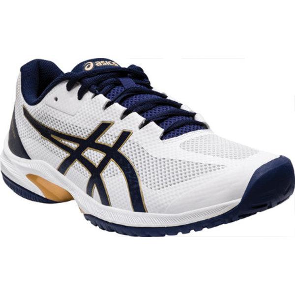 アシックス メンズ スニーカー シューズ Court Speed FF Tennis Shoe White/Peacoat