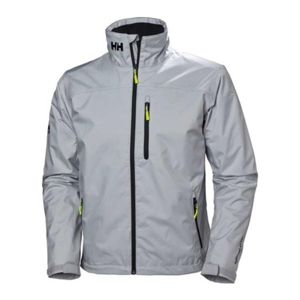 ヘリーハンセン メンズ ジャケット&ブルゾン アウター Crew Midlayer Jacket Grey Fog