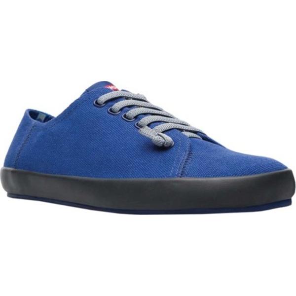 カンペール メンズ スニーカー シューズ Peu Rambla Sneaker Navy/Grey Natural Cotton