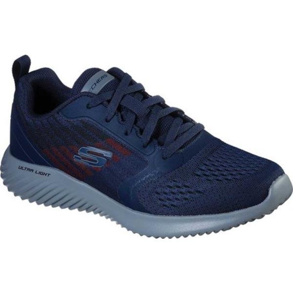 スケッチャーズ メンズ スニーカー シューズ Bounder Verkona Sneaker Navy/Charcoal