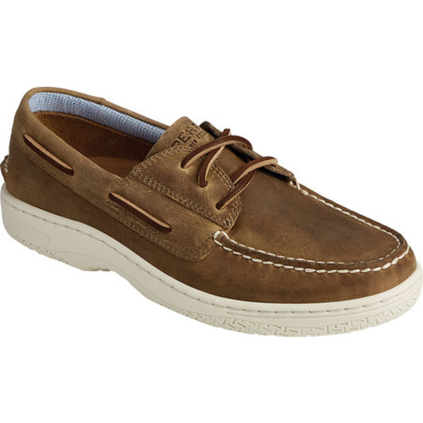 トップサイダー メンズ デッキシューズ シューズ Billfish PlushWave Boat Shoe Light Coffee Wild Horse Leather