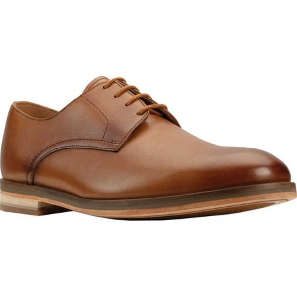 クラークス メンズ ドレスシューズ シューズ Oliver Lace Oxford Tan Leather