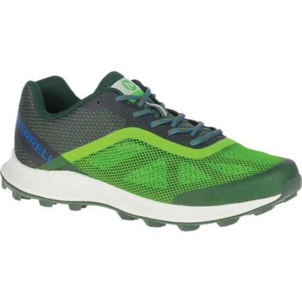 メレル メンズ ブーツ&レインブーツ シューズ MTL Skyfire Trail Shoe Lime/Forest Mesh/TPU