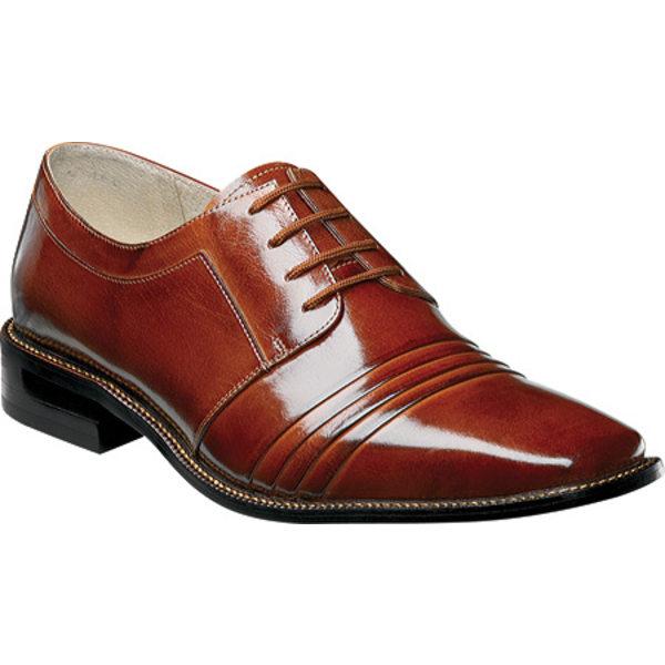 ステイシーアダムス メンズ ドレスシューズ シューズ Raynor 24748 Cognac Leather