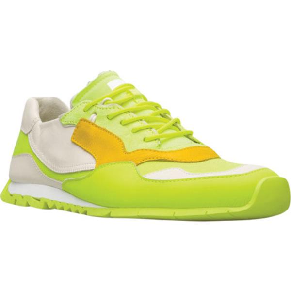 カンペール メンズ スニーカー シューズ Nothing Sneaker Neon Yellow/Multi Polyester/Calfskin