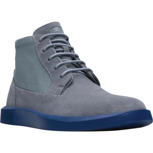 カンペール メンズ ブーツ&レインブーツ シューズ Bill Ankle Boot Medium Gray Nubuck/Natural Cotton