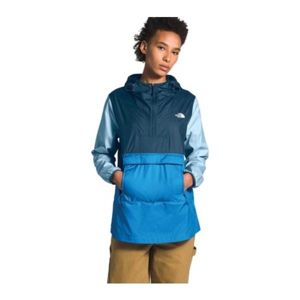 ノースフェイス レディース ジャケット&ブルゾン アウター Fanorak Pullover Anorak Jacket Clear Lake Blue/Blue Wing Teal/Angel Falls Blue