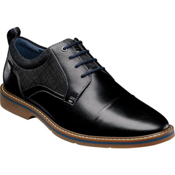 ノンブッシュ メンズ ドレスシューズ シューズ Pasadena II Cap Toe Oxford Black Multi Leather
