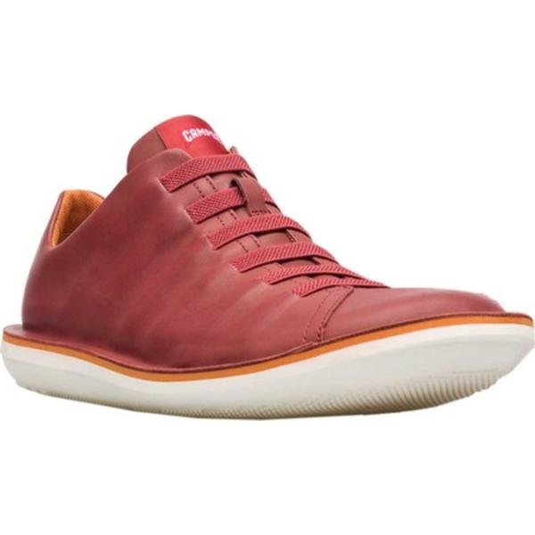 カンペール メンズ スニーカー シューズ Beetle Sneaker Dark Red Full Grain Leather