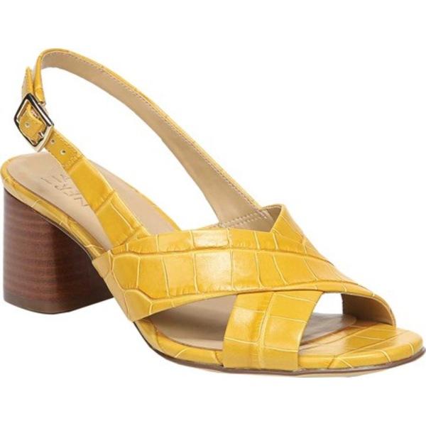 ナチュライザー レディース サンダル シューズ Azalea Slingback Sandal Yellow Croco Leather