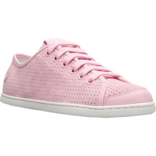 カンペール レディース スニーカー シューズ Uno Sneaker Light Pastel Pink Perforated Nubuck