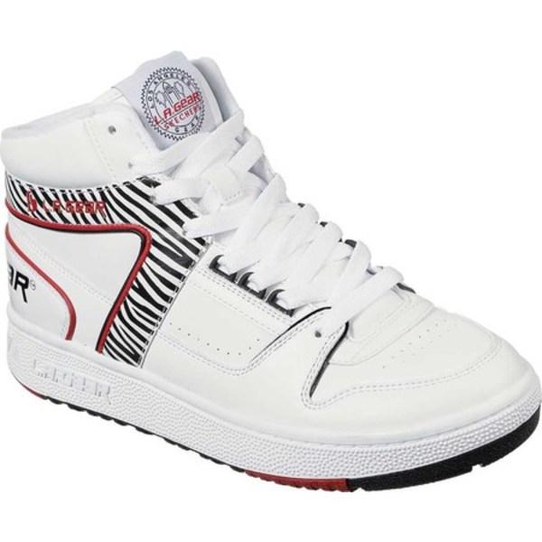 スケッチャーズ レディース スニーカー シューズ L.A. Gear Call of the Wild Sneaker Zebra
