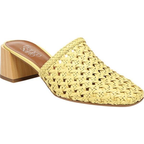 フランコサルト レディース サンダル シューズ Neo3 Mule Citron Choudhary Weave Leather