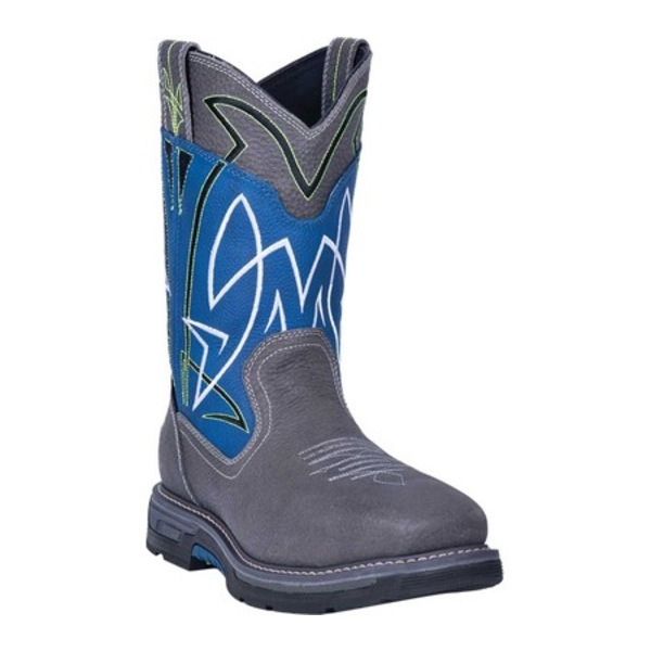 ダンポスト メンズ ブーツ&レインブーツ シューズ Storm Surge Composite Toe Boot DP59418 Blue Waterproof Full Grain Leather