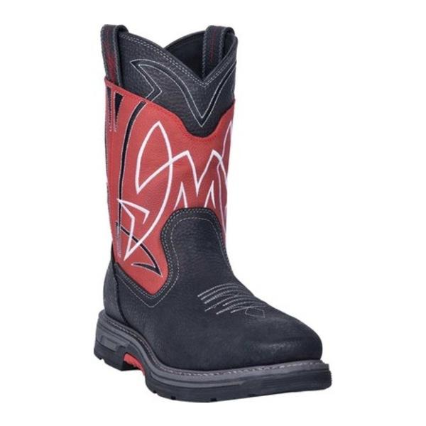 ダンポスト メンズ ブーツ&レインブーツ シューズ Storm Surge Composite Toe Boot DP59415 Red Waterproof Full Grain Leather