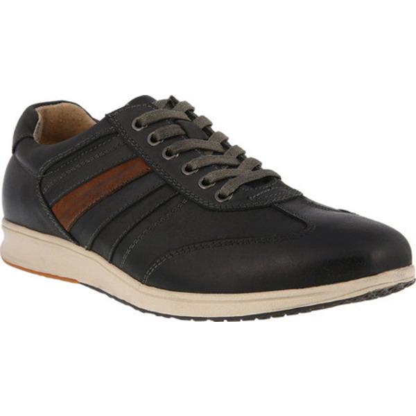 スプリングステップ メンズ スニーカー シューズ Jerome Sneaker Gray Leather