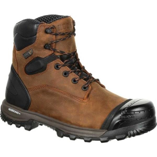 ロッキー メンズ ブーツ&レインブーツ シューズ XO-Toe Composite Waterproof Work Boot RKK0251 Brown Full Grain Leather/Synthetic
