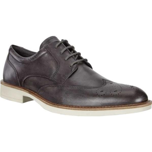 エコー メンズ ドレスシューズ シューズ Biarritz Wing Tip Oxford Magnet Leather