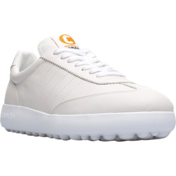 カンペール レディース スニーカー シューズ Pelotas XLF Sneaker White Natural Calfskin/Technical Fabric