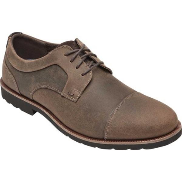 ロックポート メンズ ドレスシューズ シューズ Sharp & Ready 2 Cap Toe Oxford Dark Brown Leather