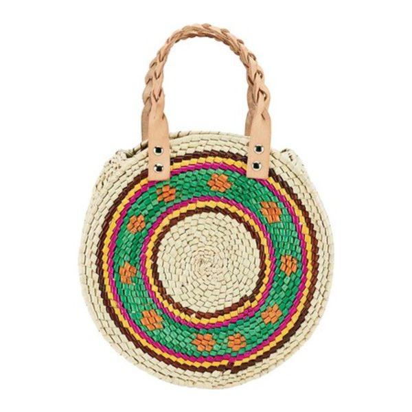 サンディエゴハット メンズ 財布 アクセサリー Palms Straw Round Handbag BSB3715 Multi