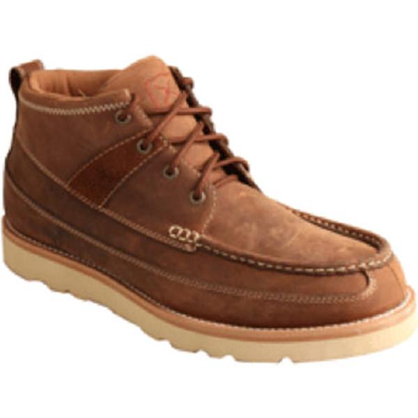 ツイステッド エックス メンズ スニーカー シューズ MCAS001 Steel Toe Boot Oiled Saddle Leather