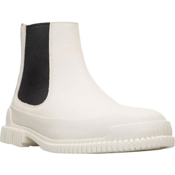 カンペール メンズ ブーツ&レインブーツ シューズ Pix Chelsea Boot Light Beige Calfskin