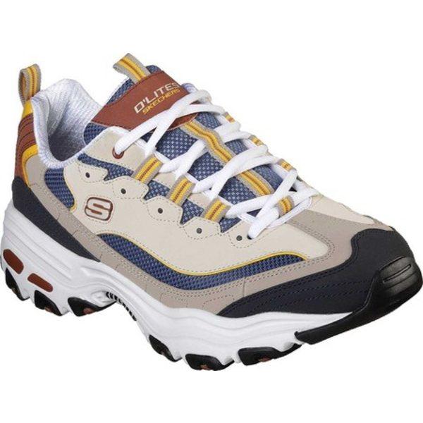 スケッチャーズ メンズ スニーカー シューズ D'Lites Sneaker Brown/Tan